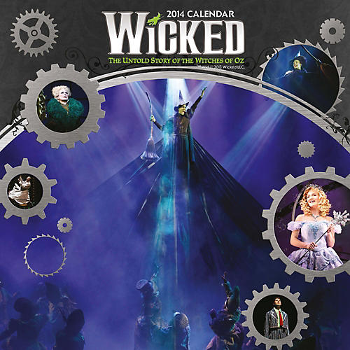Browntrout Publishing Wicked 2014 Calendar Square 12x12-thumbnail