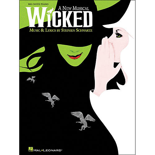Hal Leonard Wicked for Big Note Piano