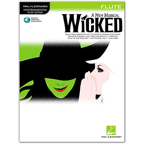 Hal Leonard Wicked for Flute (Book/Online Audio)-thumbnail
