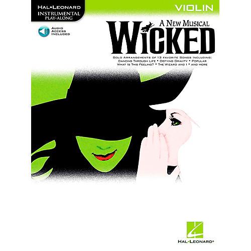 Hal Leonard Wicked for Violin Book/CD