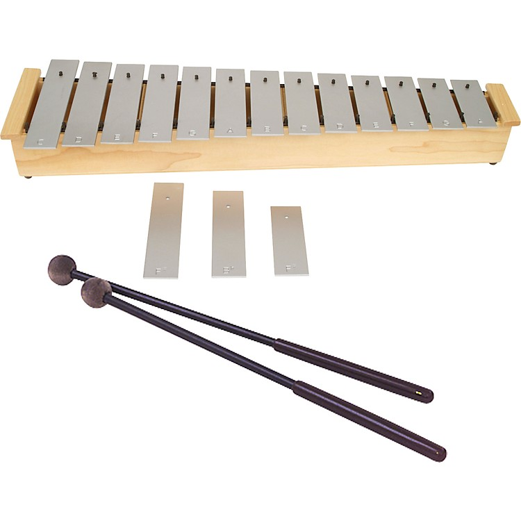 Lyons Wide Bar Diatonic Alto Glockenspiel with Mallets