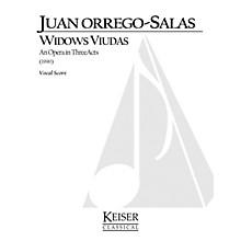 Lauren Keiser Music Publishing Widows (Viudas) (Opera Vocal Score) LKM Music Series  by Juan Orrego-Salas