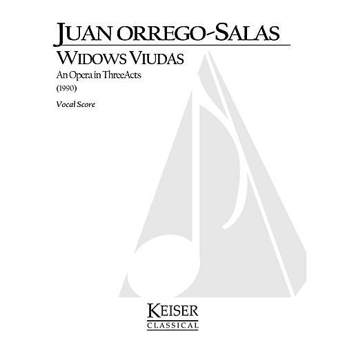 Lauren Keiser Music Publishing Widows (Viudas) (Opera Vocal Score) LKM Music Series  by Juan Orrego-Salas-thumbnail
