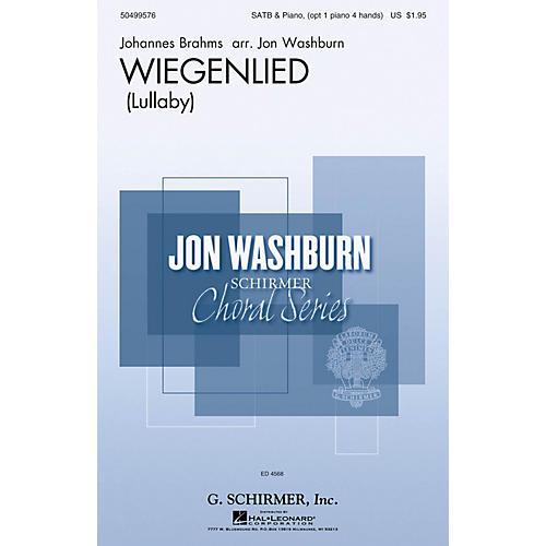 G. Schirmer Wiegenlied SSATB arranged by Jon Washburn