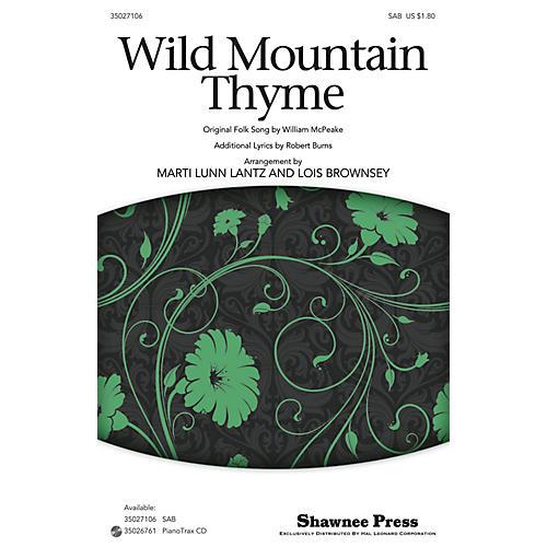 Shawnee Press Wild Mountain Thyme SAB arranged by Marti Lunn Lantz-thumbnail