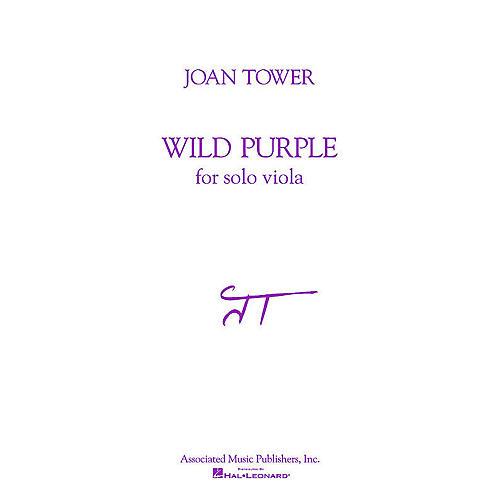 Associated Wild Purple (for Solo Viola) String Solo Series