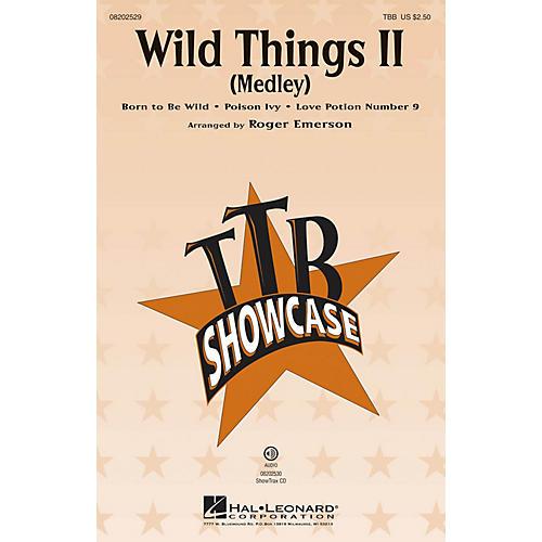 Hal Leonard Wild Things II (Medley) TBB arranged by Roger Emerson-thumbnail