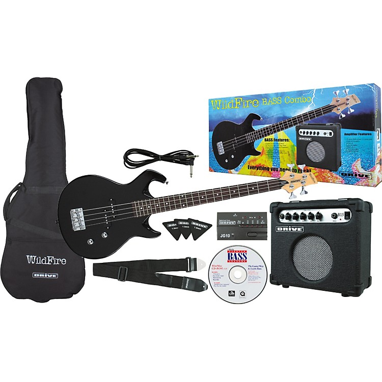 DriveWildFire Electric Bass Combo Pack