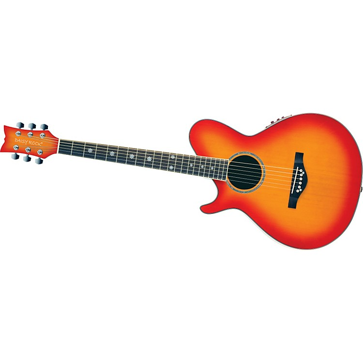 Daisy Rock Wildwood Artist Deluxe Left-Handed Acoustic-Electric Guitar