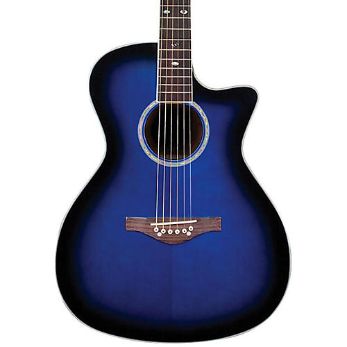 Daisy Rock Wildwood Artist Spruce Top Cutaway Acoustic-Electric Guitar-thumbnail