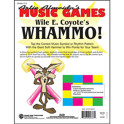 Alfred Wile E. Coyote's WHAMMO!  Artie Almeida's Music Games-thumbnail