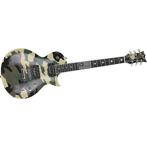 ESP Will Adler Eclipse Camo Electric Guitar-thumbnail