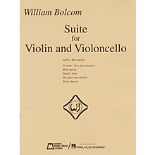 Edward B. Marks Music Company William Bolcom - Suite for Violin and Violincello E.B. Marks Series Composed by William Bolcom