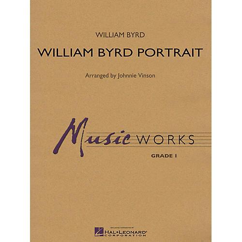 Hal Leonard William Byrd Portrait Concert Band Level 1.5 Arranged by Johnnie Vinson-thumbnail