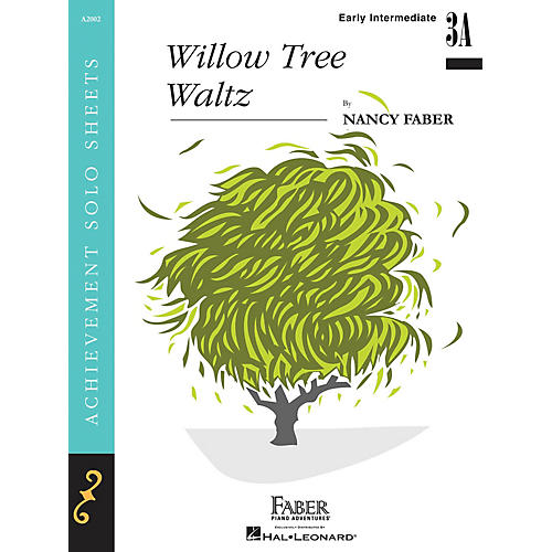 Faber Piano Adventures Willow Tree Waltz (Early Inter/Level 3B Piano Solo) Faber Piano Adventures Series by Nancy Faber-thumbnail