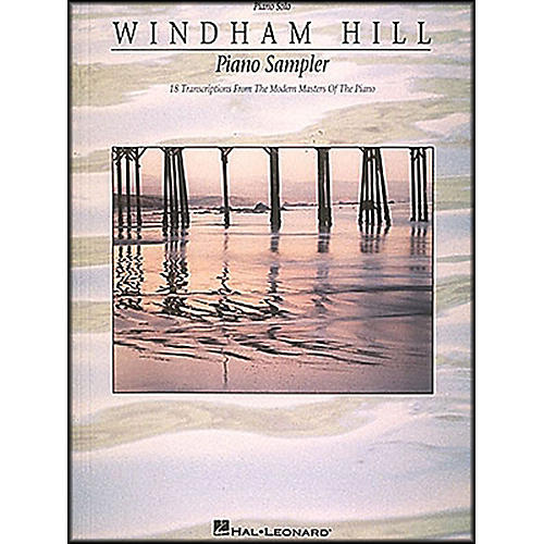 Hal Leonard Windham Hill Piano Sampler arranged for piano, vocal, and guitar (P/V/G)