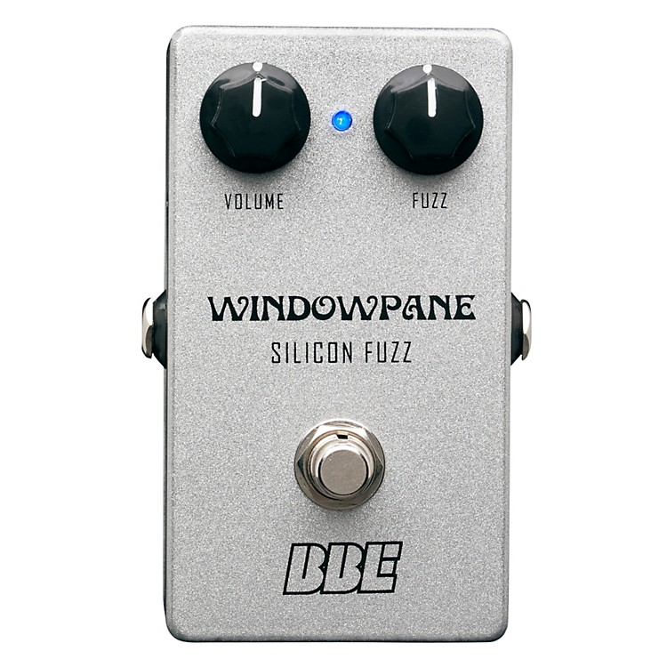 BBE Windowpane Silicon Fuzz Guitar Effects Pedal