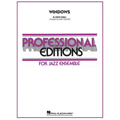 Hal Leonard Windows Jazz Band Level 4 Arranged by Mike Tomaro-thumbnail