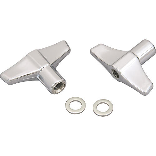 Pearl Wing Nut with Washer (2 Pack)  6 mm