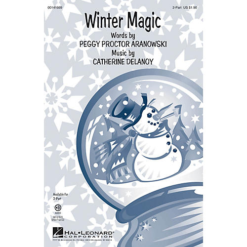 Hal Leonard Winter Magic 2-Part composed by Catherine DeLanoy-thumbnail