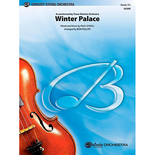 Alfred Winter Palace String Orchestra Level 3.5 Set-thumbnail