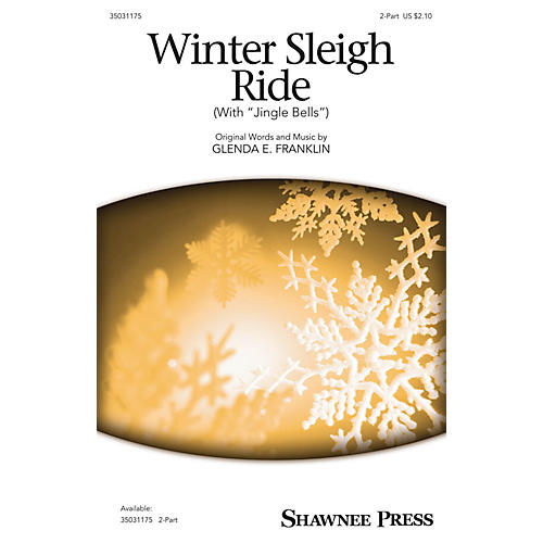 Shawnee Press Winter Sleigh Ride (with Jingle Bells) 2-Part composed by Glenda E. Franklin-thumbnail