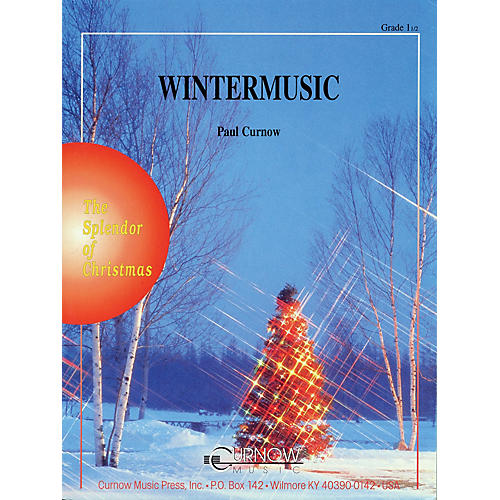 Curnow Music WinterMusic (Grade 1.5 - Score and Parts) Concert Band Level 1.5 Arranged by Paul Curnow-thumbnail
