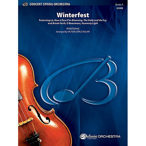 Alfred Winterfest String Orchestra Grade 3 Set-thumbnail