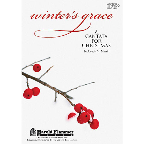 Shawnee Press Winter's Grace (Christmas Cantata) DIGITAL PRODUCTION KIT composed by Joseph M. Martin