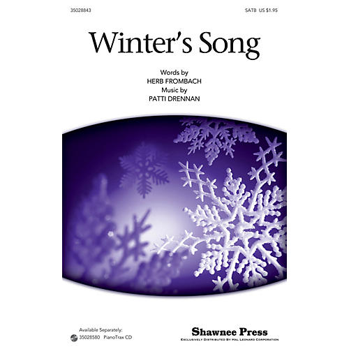 Shawnee Press Winter's Song SATB composed by Patti Drennan