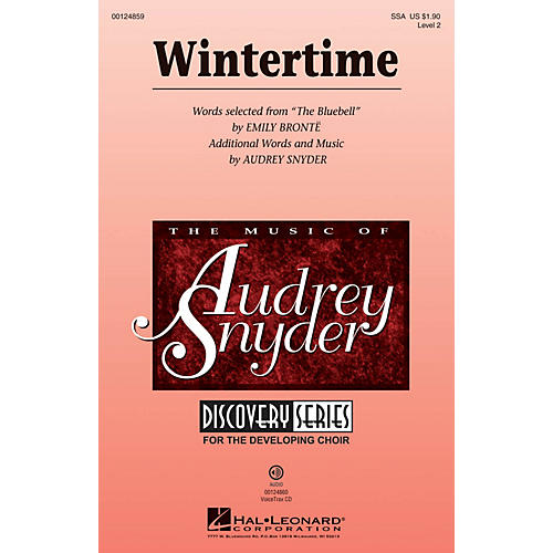 Hal Leonard Wintertime (Discovery Level 2) SSA composed by Audrey Snyder