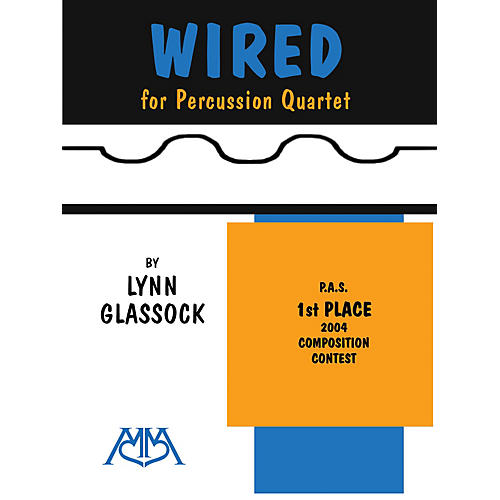 Meredith Music Wired (For Percussion Quartet) Meredith Music Percussion Series-thumbnail