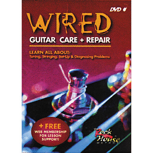 Hal Leonard Wired: Guitar Care + Repair (DVD)-thumbnail