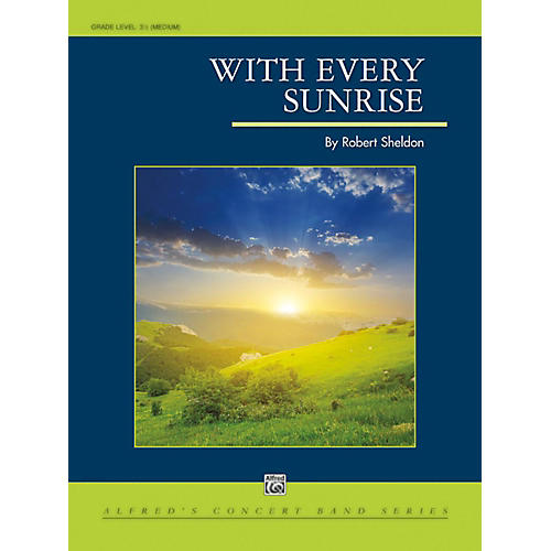 Alfred With Every Sunrise - Grade 3.5 (Medium)-thumbnail