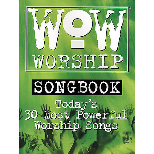 Integrity Music WoW Worship Green Songbook-thumbnail