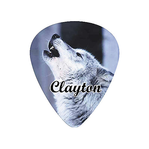 Clayton Wolf Guitar Pick Standard .80 mm 1 Dozen