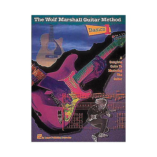 Hal Leonard Wolf Marshall Guitar Method Book 1 (Book/CD)