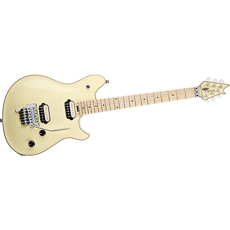 EVH Wolfgang Electric Guitar Vintage White Maple Top