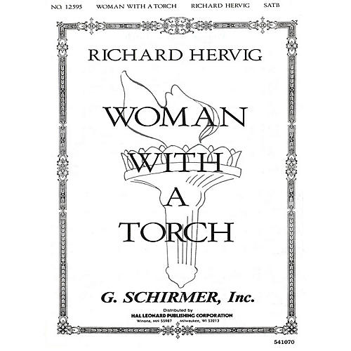 G. Schirmer Woman With A Torch SATB composed by Richard Bilderback Hervig-thumbnail