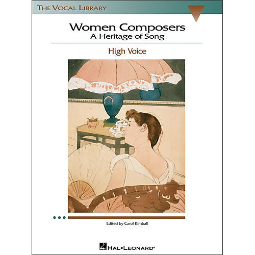 Hal Leonard Women Composers - A Heritage Of Song  (The Vocal Library Series) for High Voice-thumbnail