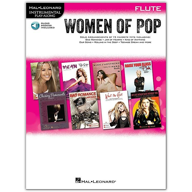 Hal LeonardWomen Of Pop For Flute - Instrumental Play-Along Book/CD