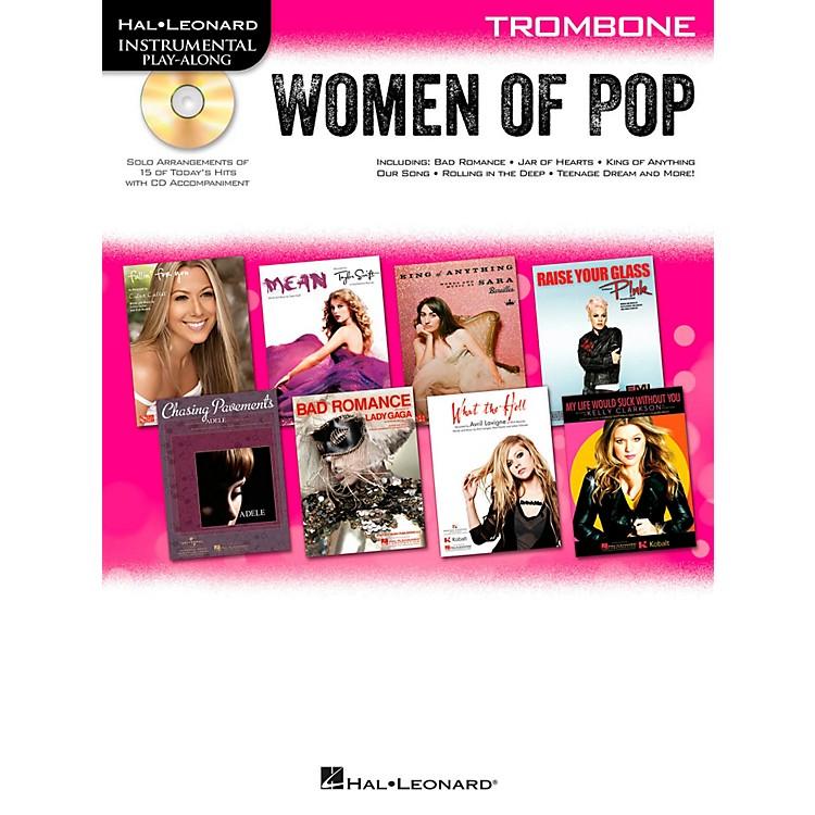 Hal LeonardWomen Of Pop For Trombone - Instrumental Play-Along Book/CD