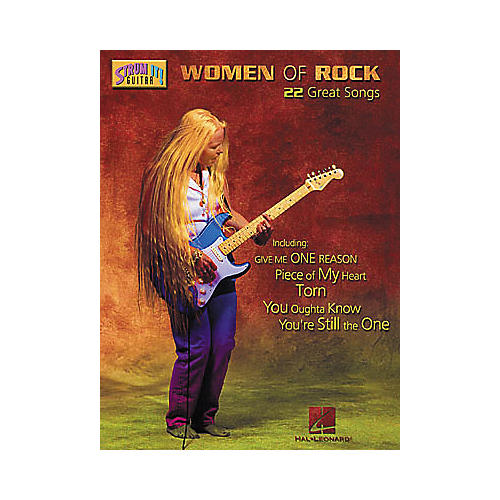 Hal Leonard Women of Rock Guitar Tab Book