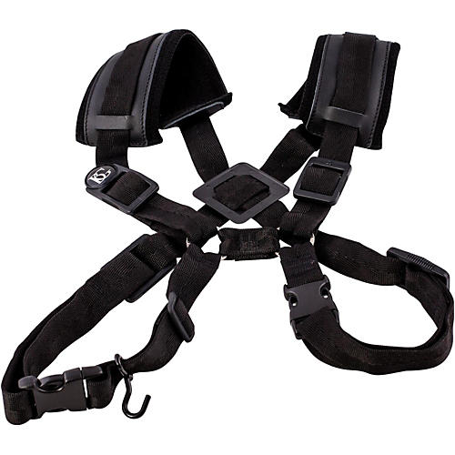 BG Women's Bassoon Instrument Strap Harness with Extra Cotton Padding