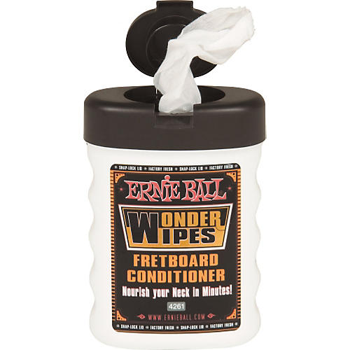Ernie Ball Wonder Wipes Fretboard Conditioner-thumbnail
