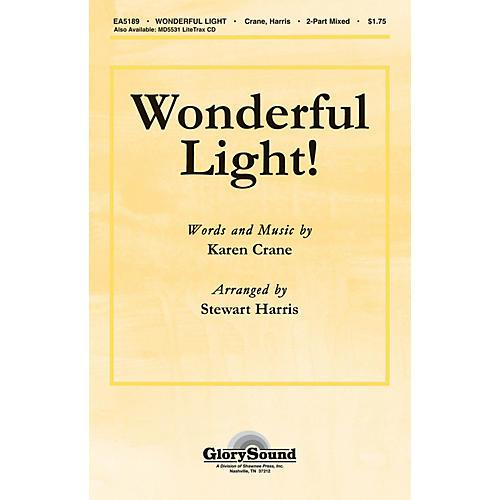 Shawnee Press Wonderful Light! 2 Part Mixed arranged by Stewart Harris-thumbnail