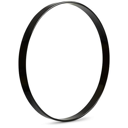 Gibraltar Wood Bass Drum Hoop 22 in. Black Lacquer