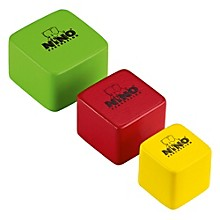 Nino Wood Shakers Square 3 Piece Set Multi Color