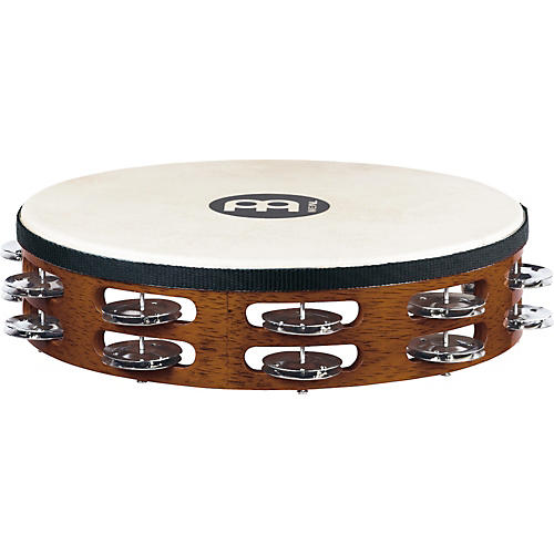 Meinl Wood Tambourine with Goatskin Head-thumbnail