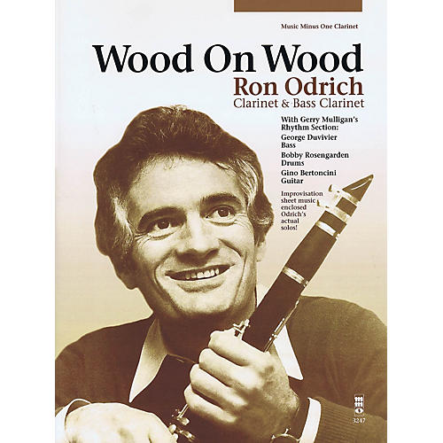 Music Minus One Wood on Wood Music Minus One Series BK/CD Performed by Ron Odrich-thumbnail